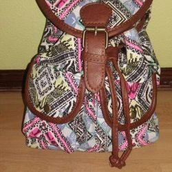 Yeni çanta-sırt çantası