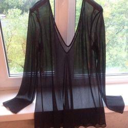 Alberta Ferretti bluză italiană de mătase
