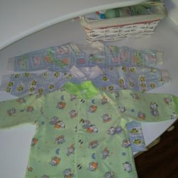 Shirts - raspashki on the buttons