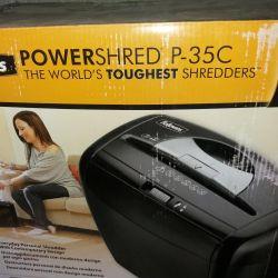New shredder