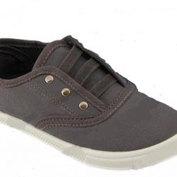 New gray sport slippers unisex 36 rr