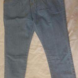 Yükseklik için kot pantolon 110-116