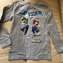 T-shirt for boy height 128 cm