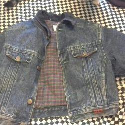 Children's denim jacket, size XS
