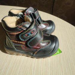 Ботинки UXU детские новые размеры 19, 20.