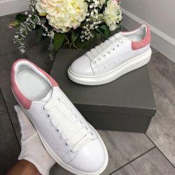 Spor ayakkabı deri Alexander McQueen