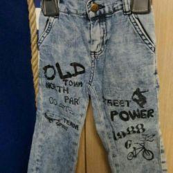 Jeans dimensiunea 98