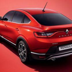 "Antena ""bici"" full-time Renault Arcana"