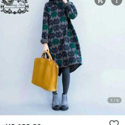 Sıcak tunik elbise