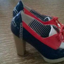 Ανδρικές μπότες, κατασκευασμένες από oodji, μέγεθος 38