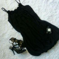 Шифоновое платье 44