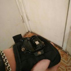 Τοποθέτηση κάμερας δράσης στο βραχίονα