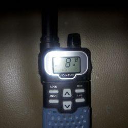 Two walkie-talkies