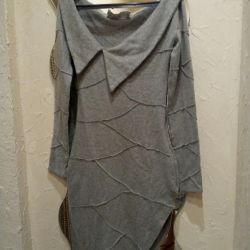 Авторское шерстяное платье от Полины Ефимовой