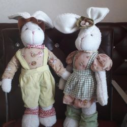 Soft rabbit brothers