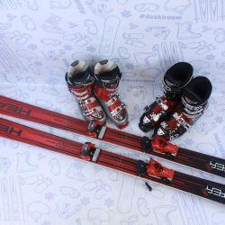 Skis Head Monster 88 (184 cm) + bindings + boots
