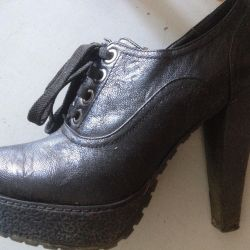 Ankle boots are new! Natural leather