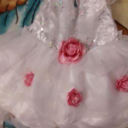 Prenses elbise 1 yıl