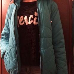 Куртка женская весна осень теплая