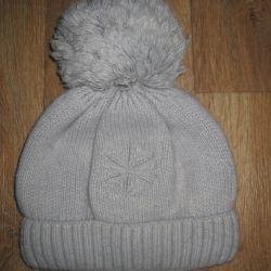 Polar astar üzerinde kış şapka