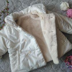 Курточка двухсторонняя.💝