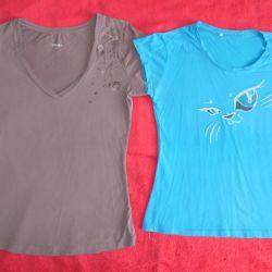T-shirts, turtleneck 44-46 size