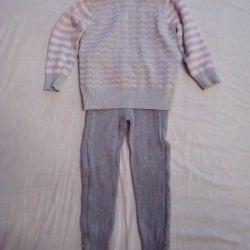 4-5 yıl 104-110cm sıcak pamuklu elbise