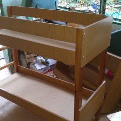 pat suprapus pentru copii