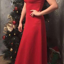 Dress, put on once, size 44-46