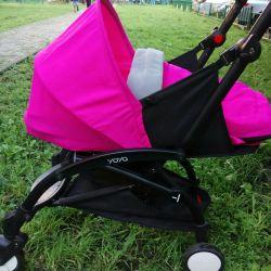 Cradle yoya pink 0+ rent