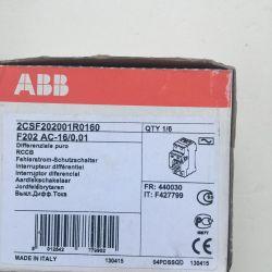 Abb RCD F202 AC-16 / 0.01