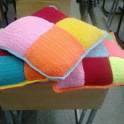 Seats, pillows