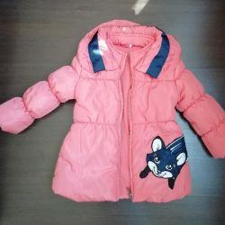 Продаю демисезонную курточку для девочки