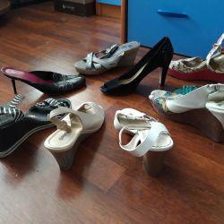 The little sandals.