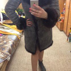 Sheepskin coat Turkish elegant fur Tuscany