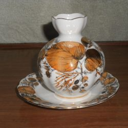 Vase and saucer LFZ