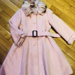 Пальто утеплeнное