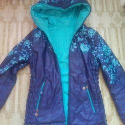 Demi-season jacket for pregnant women