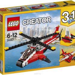 Lego Creator Designer Red Helicopter 31057