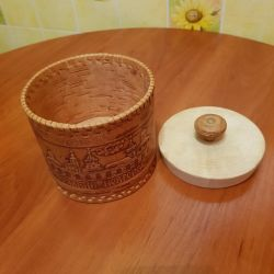 Birch bark Box