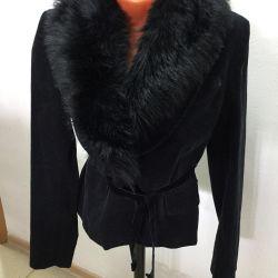 Новей велюровый пиджак