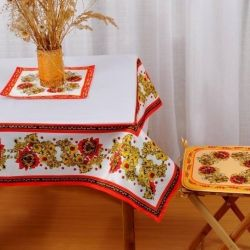 Tablecloth with photo printing 140 * 140