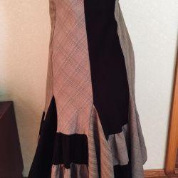 Flared skirt, 2 pcs