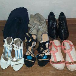 Un pachet de pantofi 37-37,5 p.