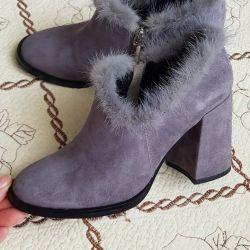Kadın ayak bileği botları - Calipso + gift