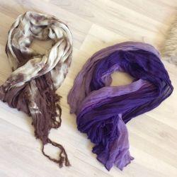 Light scarves / shawls