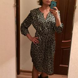 Платье сатин