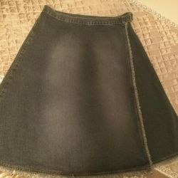 Jeans skirt is new 46-48 size