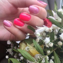 Manicure gel varnish