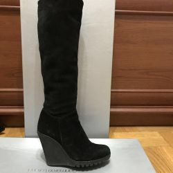 Suede boots (warm inside fur) Turkey
